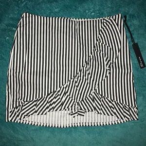 TOBI That Extra Mile Stripe Skirt